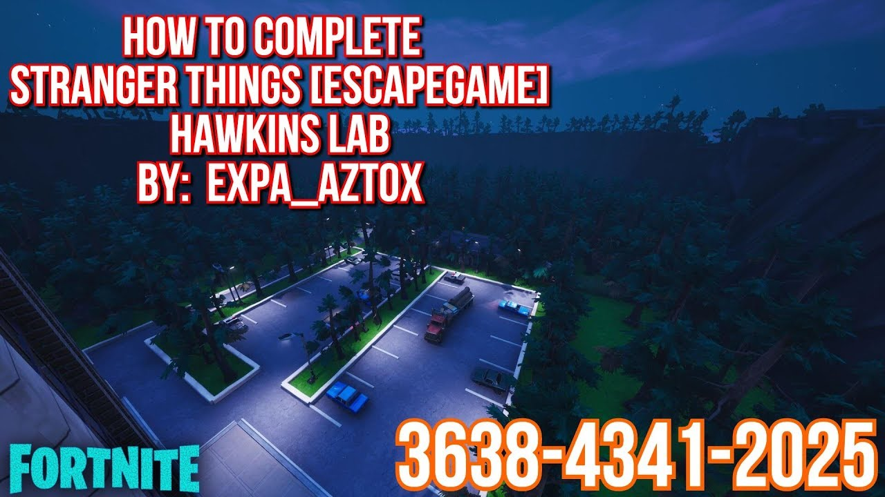 HOW TO COMPLETE STRANGER THINGS HAWKINS LAB BY EXPA_AZTOX ...