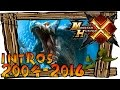 Monster Hunter - All Openings / Intros 2004  - 2016 (PS2, PSP, 3DS, Wii U | Generations Included)