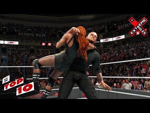 WWE 2K19 - Top 10 Extreme Rules 2019 Moments!