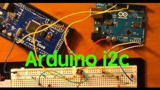 I2c Communication Between An Arduino Uno And An Arduino Mega 2560