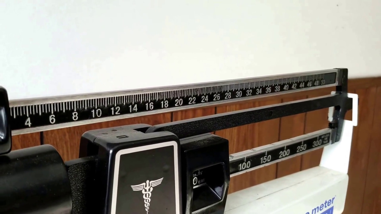 HD How to Balance and Calibrating a Manual Scale - YouTube