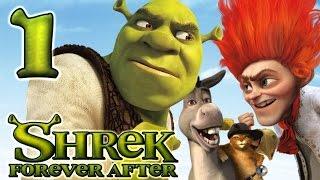 Shrek Forever After Walkthrough Part 1 (PS3, X360, Wii, PC) - Ogre Camp