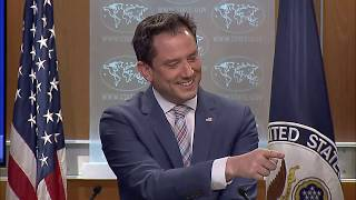 Department Press Briefing - April 11, 2019 with Special Envoy Elan S. Carr