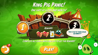 Angry Birds 2 King Pig Panic! (DAILY CHALLENGE) – 3 LEVELS Gameplay Walkthrough Part 260