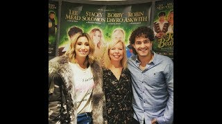 Lee Mead and Stacey Solomon - Jack & the Beanstalk Interview