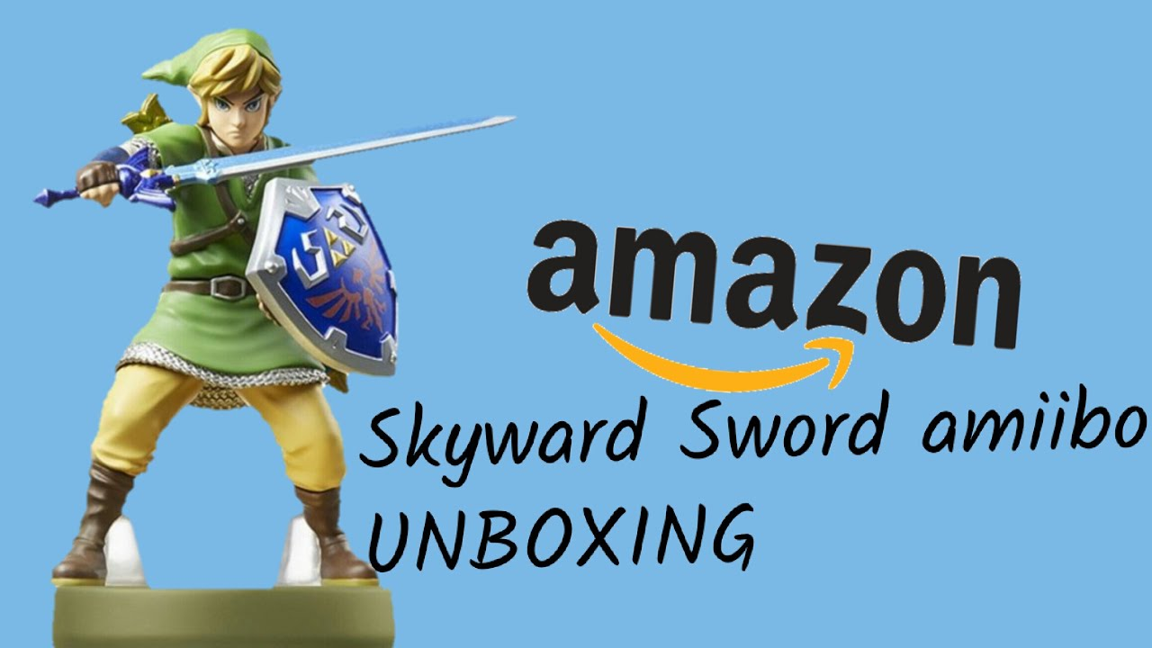 Skyward Sword Link amiibo UNBOXING - YouTube