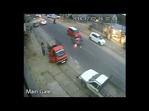 Live accident cctv visual,Itanagar,Northeast