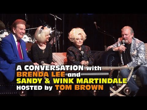 A Conversation with Sandy & Wink Martindale and Brenda LeeNashville Elvis Festival 2017
