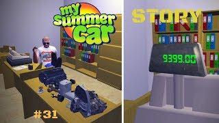 Engine overhaul - Repair of engine parts - My Summer Car Story #31