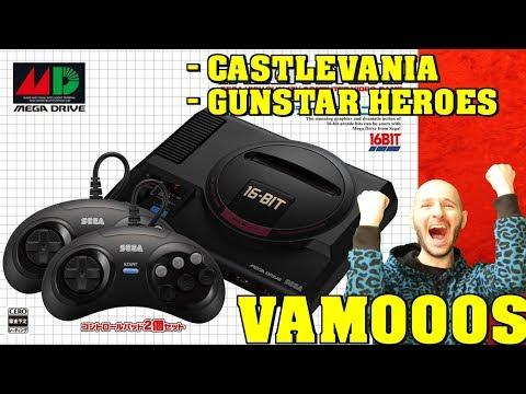 ¡MEGA DRIVE MINI MEJOR IMPOSIBLE, HASTA EL CASTLEVANIA! - Sasel - genesis - sega - classic thumbnail