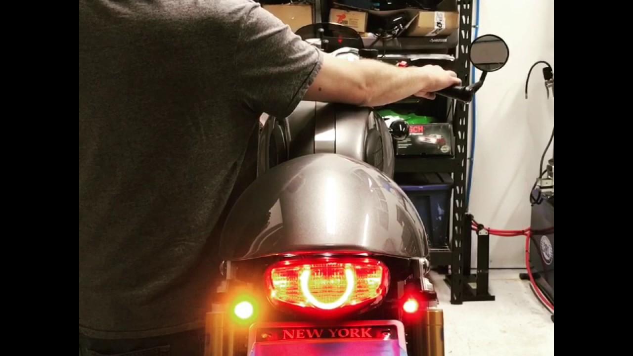 Triumph Thruxton R With Cognito Moto Fender Eliminator Kit And