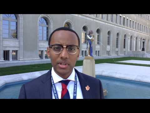Day 1 Remarks at the WTO Public Forum with YDC Ambassador Petros Kusmu