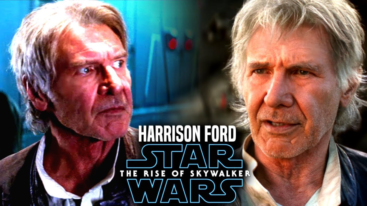 The Rise Of Skywalker Harrison Ford Exciting News Revealed Star Wars Episode 9 Youtube