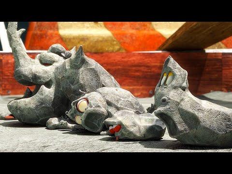LARVA   GARA DEL CEMENTO   Film dei cartoni animati   Cartoni per bambini   WildBrain