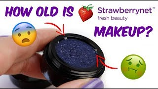 How OLD is StrawberryNET makeup??