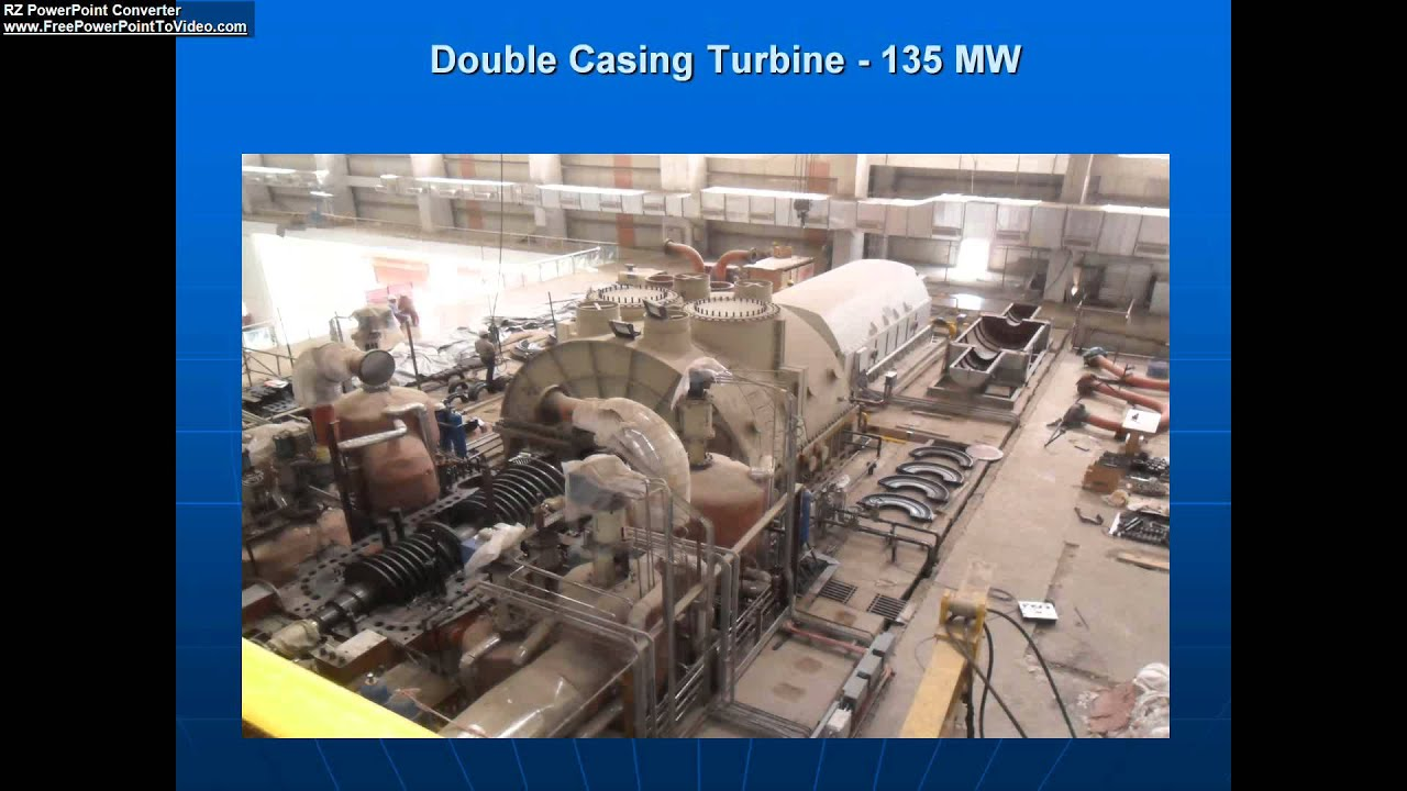 What is Utility Steam Turbine