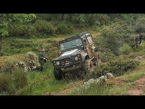 Land Rover Defender 90 TD5 - 37''  **OFF-ROAD TRIP**     06-05-2018