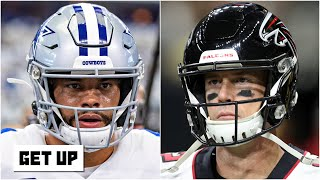 Cowboys vs. Falcons predictions for NFL Week 2 | Get Up