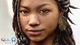 GOD OF WAR RAGNAROK PS5 GAMEPLAY REACTION (PlayStation Showcase 2021)