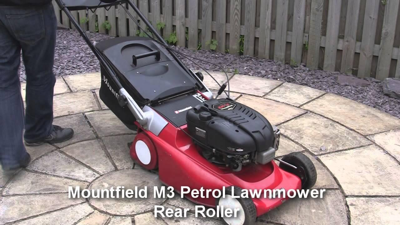 Mountfield Mowers Reviews >> Mountfield M3 Petrol Lawnmower Test Review - YouTube