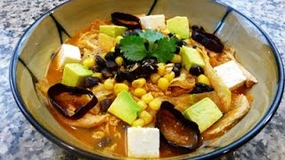 Mexican Tortilla Soup Recipe (how to)