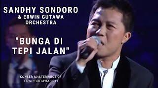 Sandhy Sondoro - Bunga di Tepi Jalan (Konser 'A Masterpiece of Erwin Gutawa)