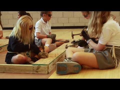 The Lovett School 6th Graders Build with Atlanta Habitat