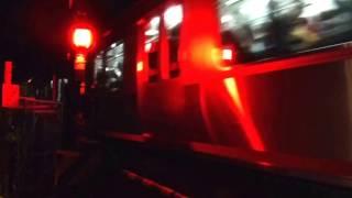 相模鉄道本線(星川駅~天王町駅)連続立体交差事業 地上区間最終下り列車