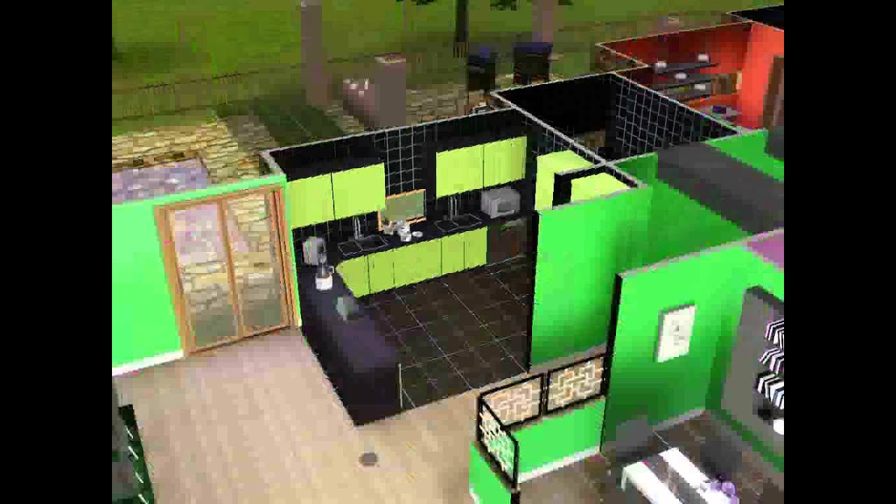 Sims 3 my new and improve heck family house youtube for Cool house plans com