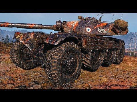 Panhard EBR 105 - 1 vs 6 - World of Tanks Gameplay