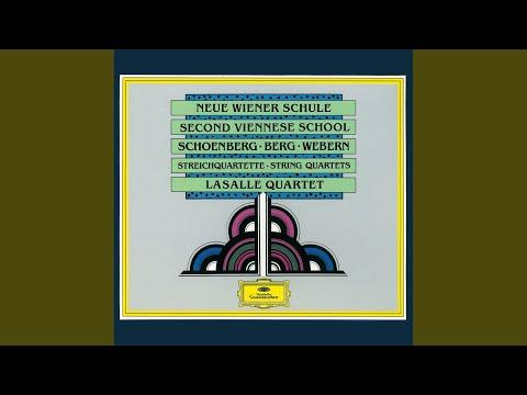 Webern: String Quartet (1905)