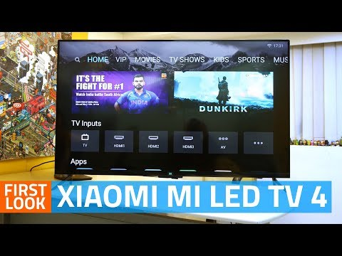 Xiaomi Mi LED TV 4 First Look | 55-Inch TV With 4K HDR Display | Price, Features, Specs, and More