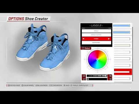 NBA 2K18 Shoe Creator - Air Jordan 6