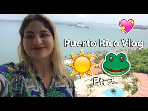 Puerto Rico Daily Vlog Pt.2| Laurie Laino
