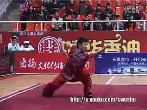 Fanzi Quan (Liu Huan) - China Traditional Wushu Nationals 2011