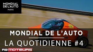 Mondial de l'Auto - Le JT 4 - Audi Q3, Skoda Vision RS, la muscle bike MotorHell,