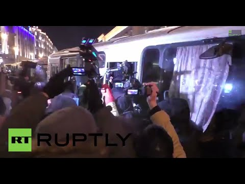 Russia: See Navalny detained in Moscow for breaking house arrest
