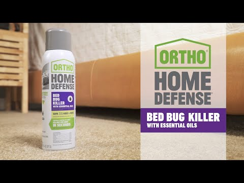 How To Use Ortho Home Defense Bed Bug Killer With Essential Oils