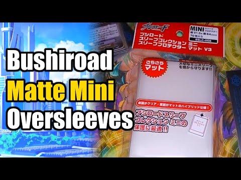 Cardfight Vanguard Bushiroad MATTE Oversleeves Review