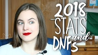 2018 WRAP UP: Reading Stats & Books I DNF'd || ivymuse
