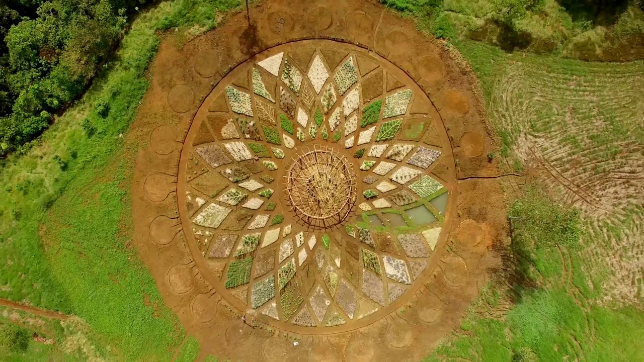 Permaculture Mandala Garden Rise Costa Rica Youtube