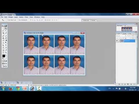 How to create Passport photos in gujarati