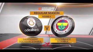 Highlights: Galatasaray Odeabank Istanbul-Fenerbahce Istanbul
