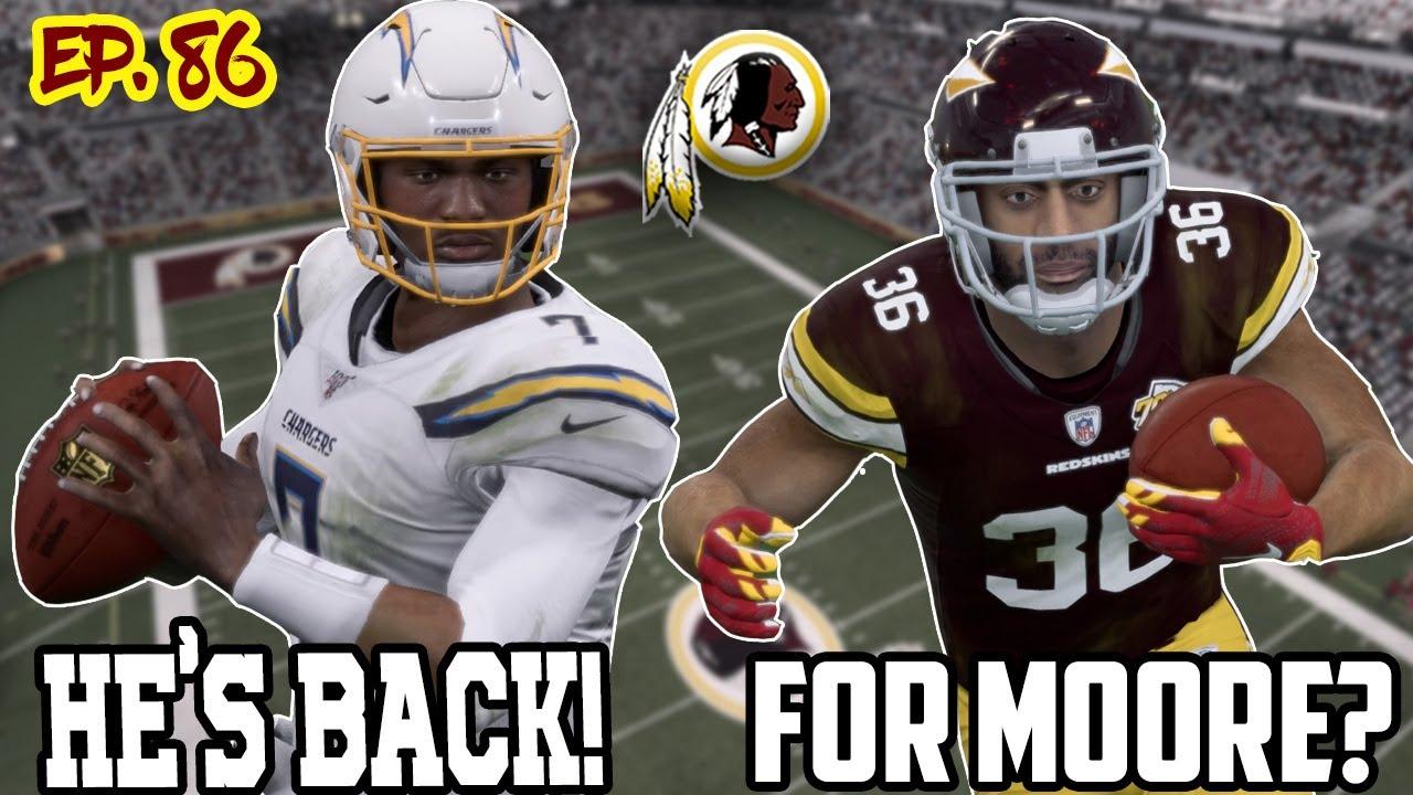 Different? Or MOORE of the Same??? | Washington Redskins Madden 20 Franchise Rebuild | Ep86 S7 G1-2