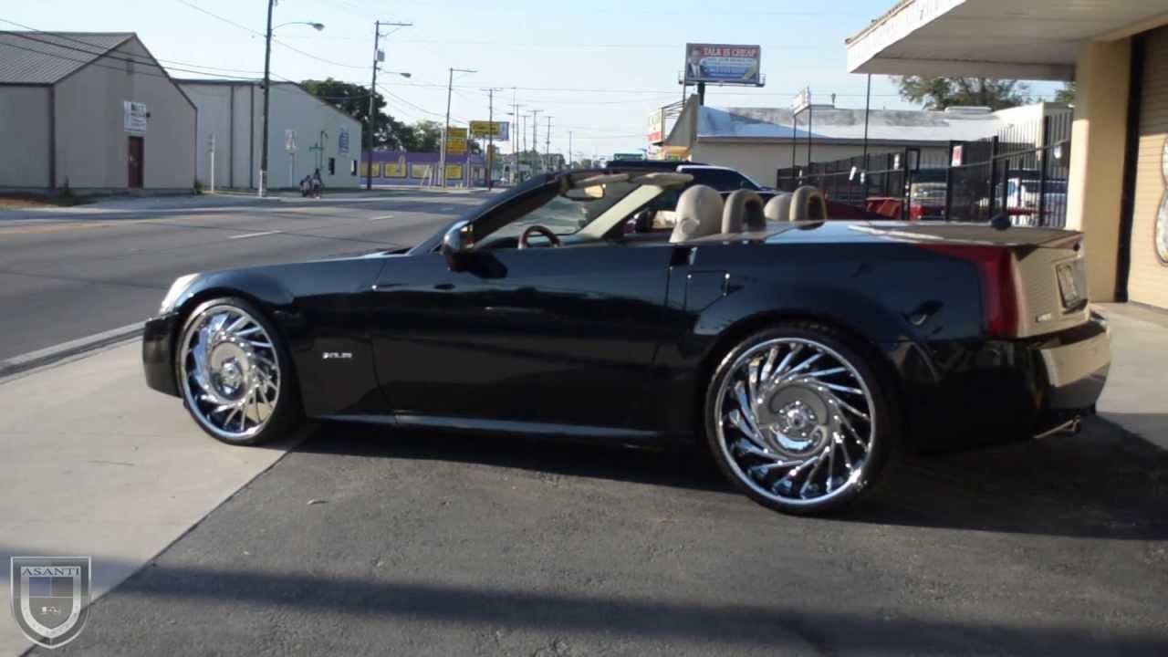 Cadillac Xlr On Asanti Vf602 22 S Youtube