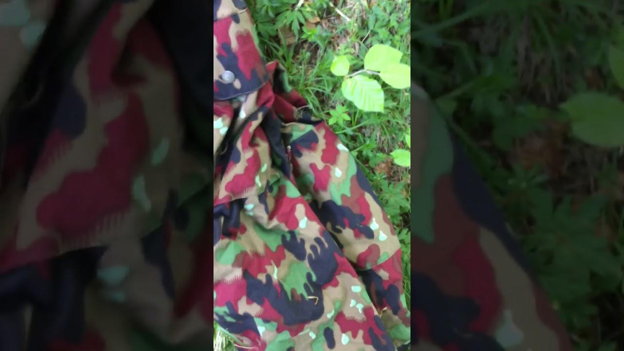 "db458e9bed2bc Swiss M83 Camo Field Jacket Alpenflage ""Vierfrucht"" Effectiveness Test"