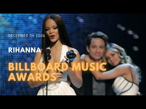 2006 12 04 Rihanna the Billboard Music Awards Winner