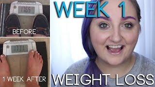 WEEK 1 | Weight Loss Update | RawBeautyKristi