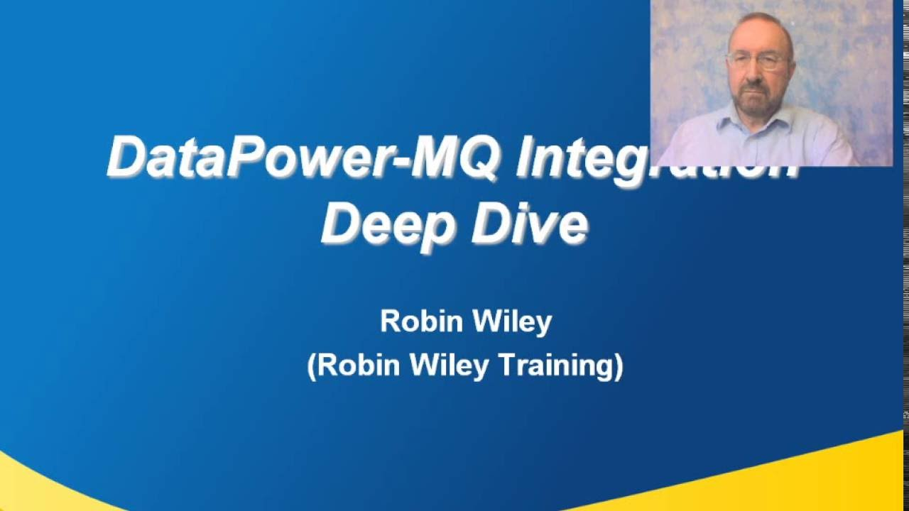 MQ-DataPower Connectivity Deep Dive by Robin Wiley - YouTube