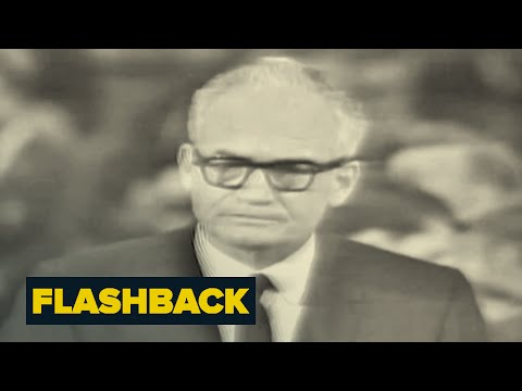 Barry Goldwater Endorses Extremism | Flashback | NBC News